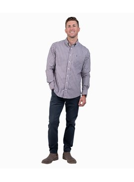 Southern Shirt Tanner Plaid LS Performance
