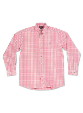 Southern Marsh Shenandoah Performance Check Dress Shirt