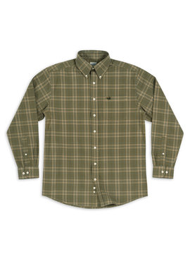 Southern Marsh Verret Washed Check Dress Shirt