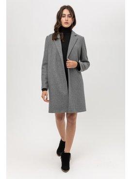 Love Tree Fashion Fleece Long Line Coat