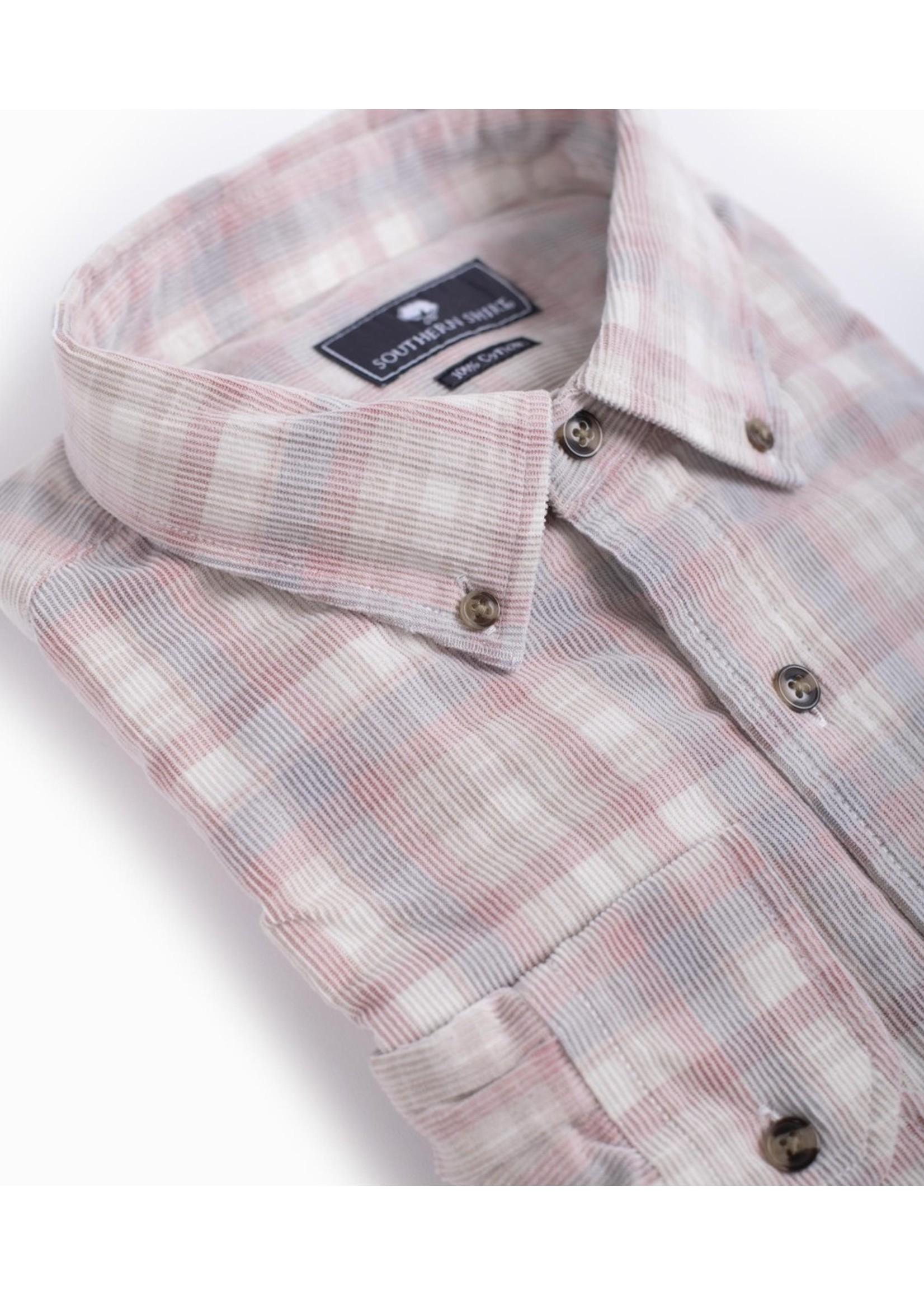Southern Shirt Braxton Lightweight Corduroy Flannel L/S