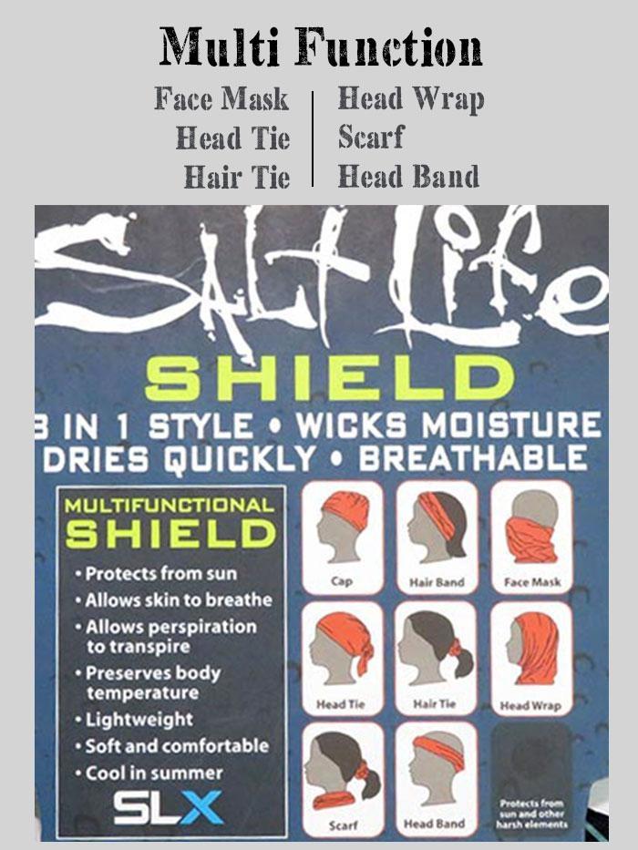 Salt Life Rogue Seas Face Shield
