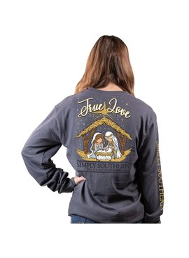 Simply Southern Collection True Love Long Sleeve T-Shirt - Iron