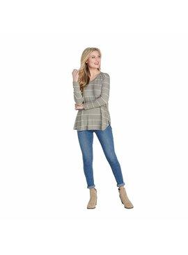 Mud Pie Erin Stripe Long Sleeve T-Shirt