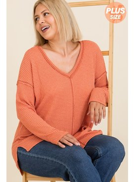 Thermal Waffle Solid Top