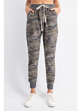Rae Mode Camo Print Jogger Pants