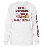Simply Southern Collection Simply Southern Sleep Repeat  L/S T-Shirt