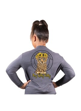 Simply Southern Collection YOUTH Simply Southern Hey Kitty Kitty  L/S T-Shirt