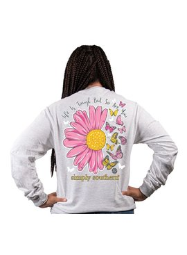 Simply Southern Collection Simply Southern Life Is Tough L/S T-Shirt