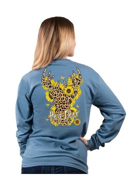 Simply Southern Collection Simply Southern Hey Deer L/S T-Shirt