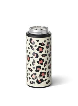Swig Life Luxy Leopard Skinny Can Cooler (12OZ)