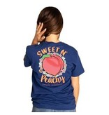 Simply Southern Collection Simply Southern Sweet N' Peachy - Navy