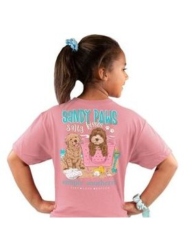 Simply Southern Collection Youth Simply Southern Sandy Paws Salty Kisses