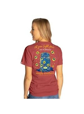 Simply Southern Collection Youth Simply Southern Let Your Light Shine
