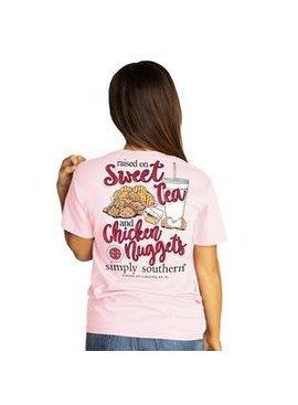 Simply Southern Collection Youth Simply Southern Raised On Sweet Tea