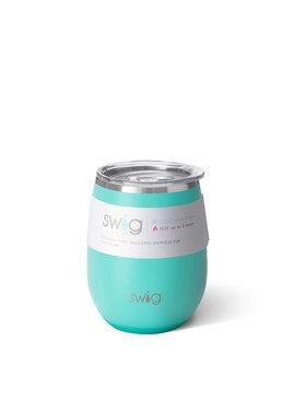 Swig Life Swig 14oz Stemless Wine Cup-Matte Aqua