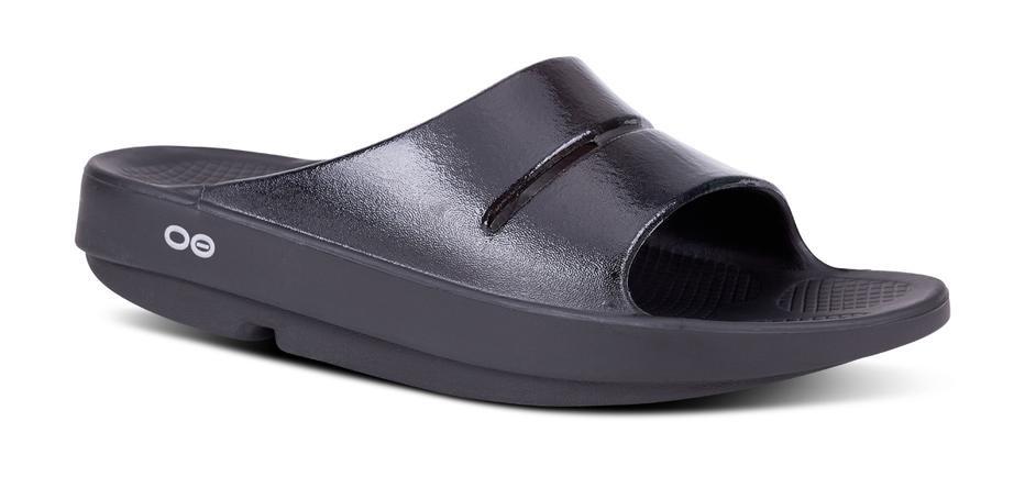 OOFOS Women's OOahh Luxe Slide Sandal