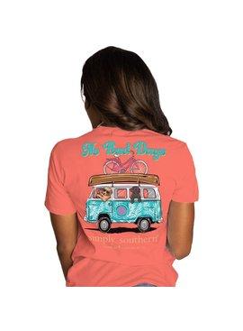 Simply Southern Collection No Bad Days Short Sleeve T-Shirt - Sockeye