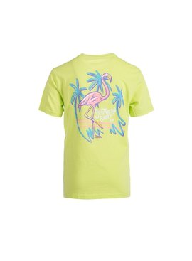 Southern Shirt Youth Malibu Flamingo Short Sleeve