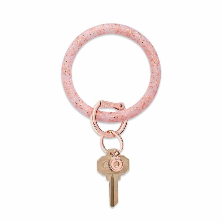 O venture Confetti Collection - Silicone Big O® Key Ring