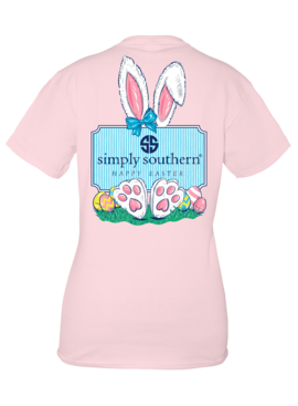 Simply Southern Collection Youth Simply Southern Happy Easter - Lulu