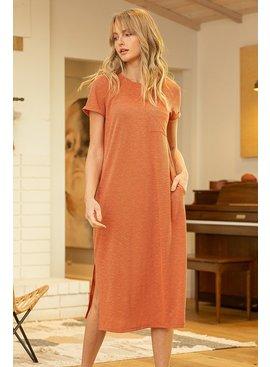 VOY Harper Short Sleeve Tee Dress