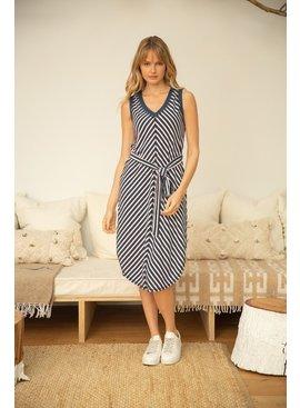 VOY Evelyn Stripe Tank Dress