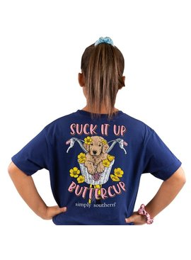Simply Southern Collection Youth Simply Southern Suck It Up Buttercup
