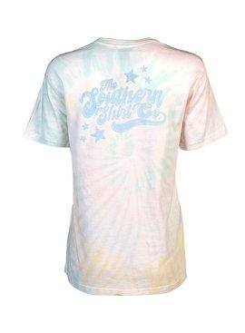Southern Shirt Feelin Groovy Tie Dye Tee SS Tie Dye