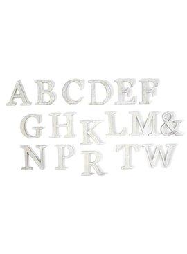 Mud Pie Mud Pie Wood Initial Individual Letters