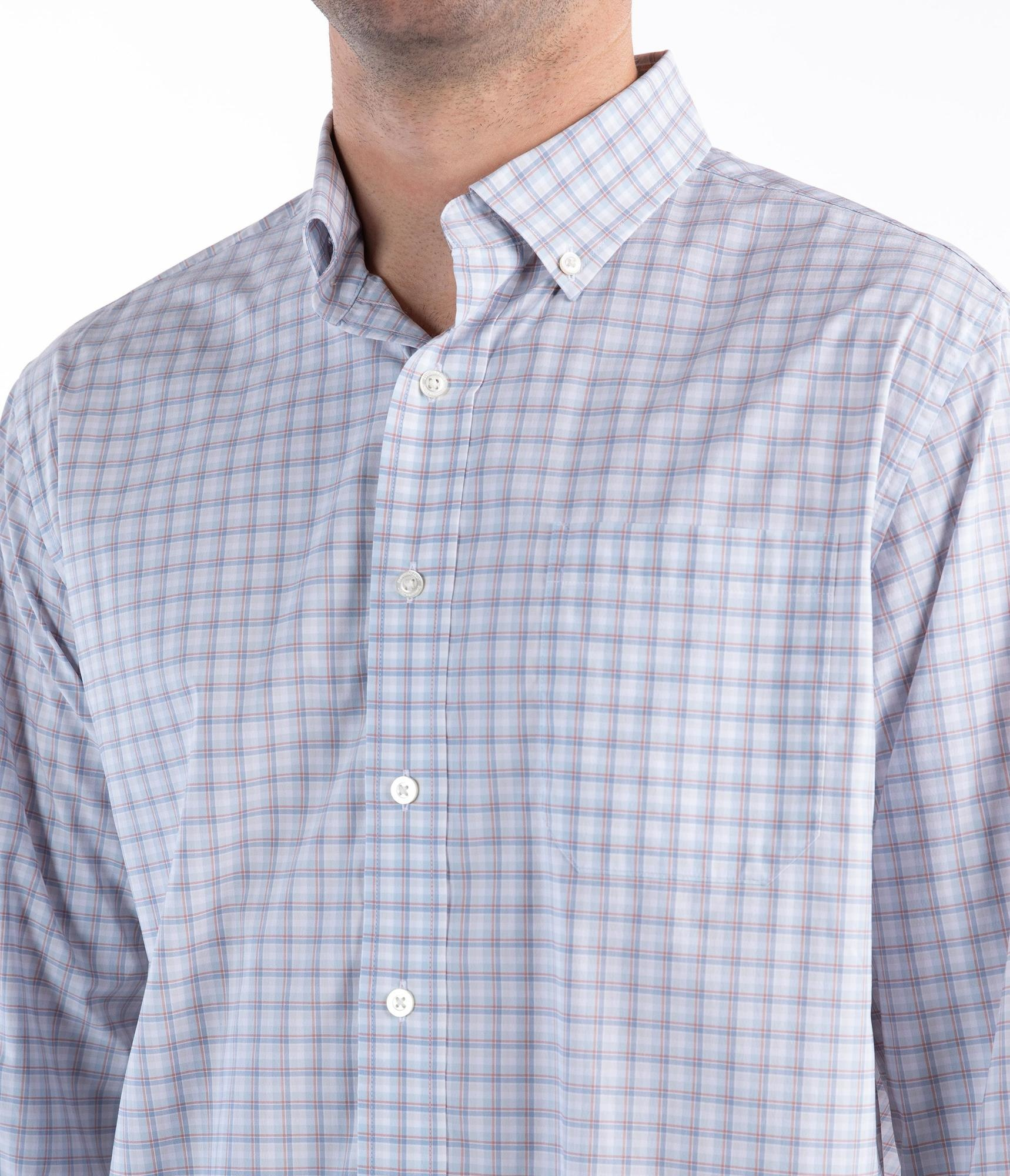 Southern Shirt One Island Plaid Dress Shirt