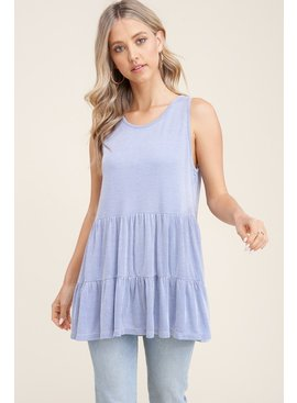 Staccato Sleeveless Knit Top