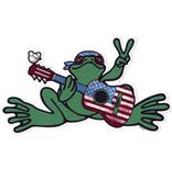 Peace Frogs, Inc American Beauty Frog Sticker