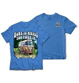 Peace Frogs, Inc Home Is Where You Park It Short Sleeve T-Shirt