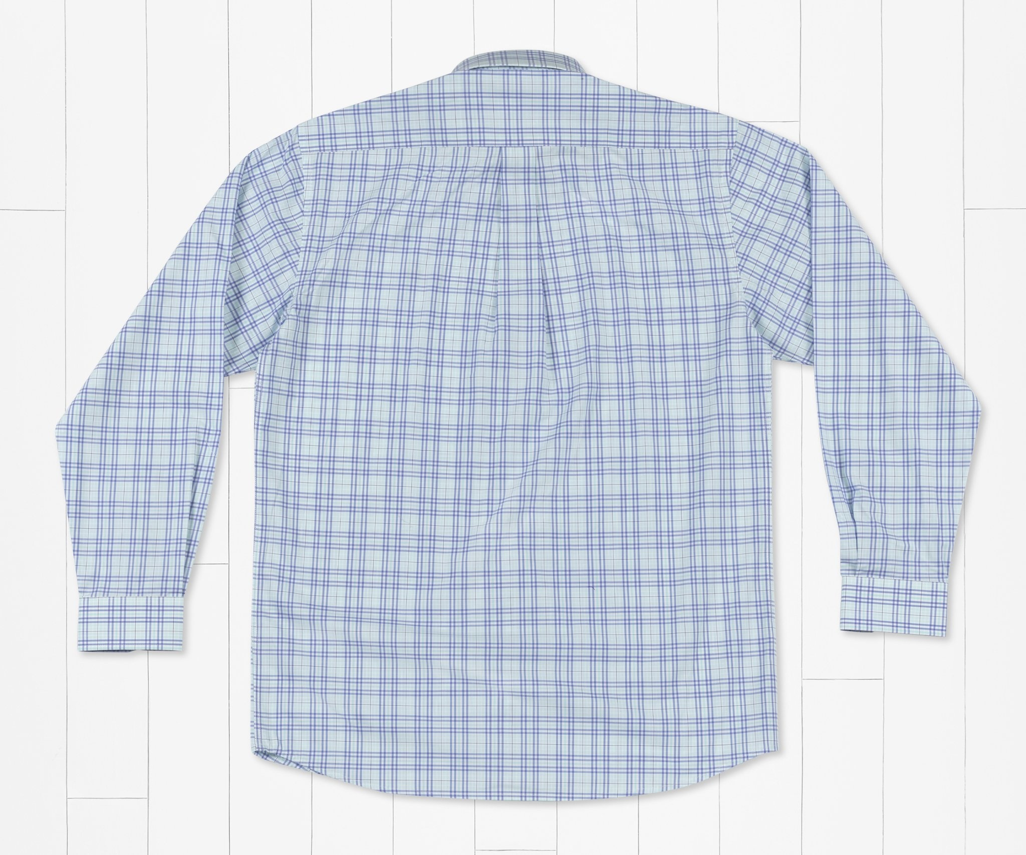 Southern Marsh Charlotte Windowpane  Dress Shirt