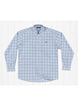 Southern Marsh Charlotte Windowpane  Dress Shirt