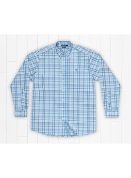 Southern Marsh Nassau Performance Plaid Dress Shirt