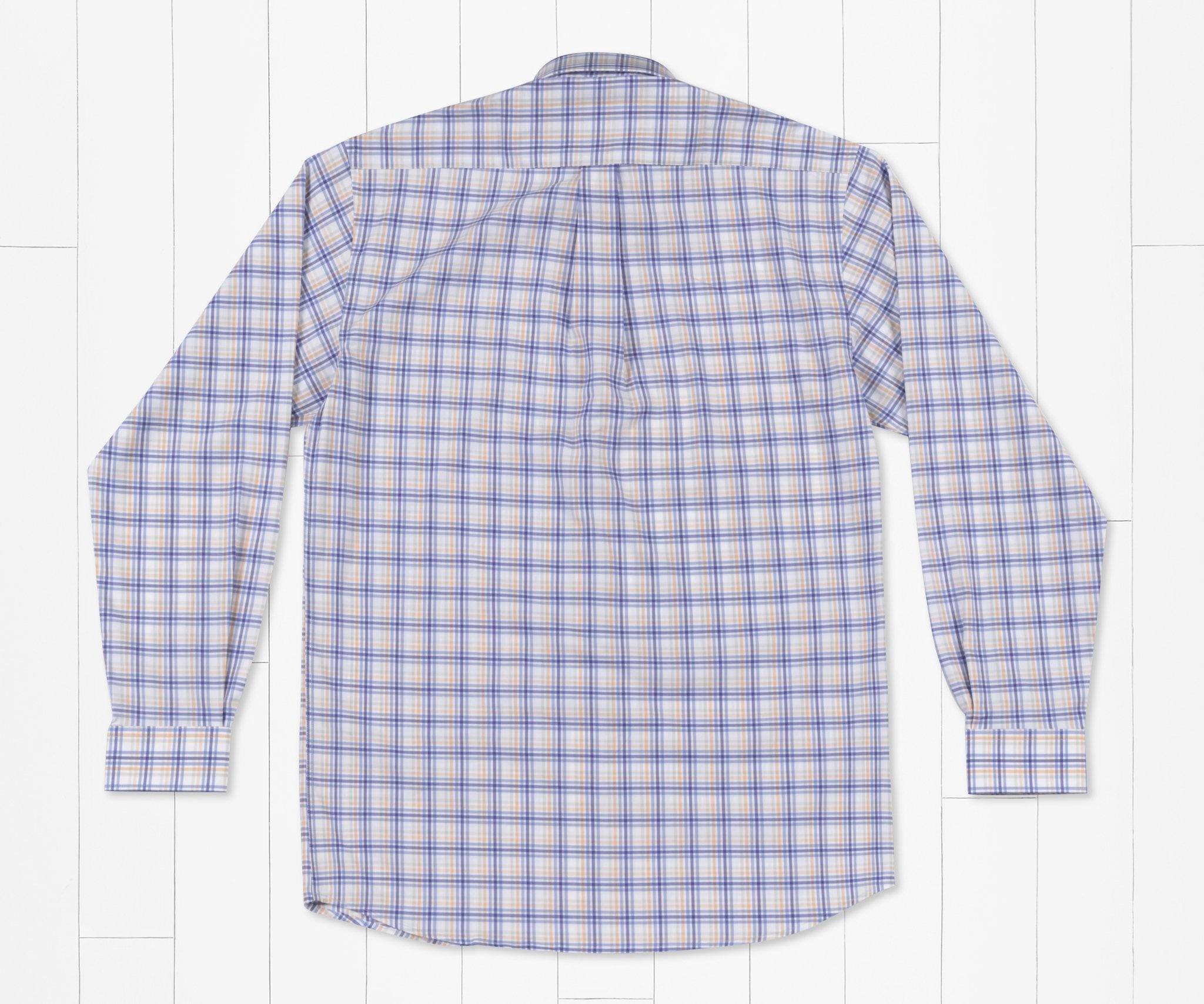 Southern Marsh Putnam Performance Windowpane  Dress Shirt