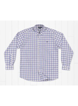 Southern Marsh Putnam Performance Windowpane  Dress Shirt