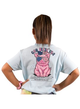 Simply Southern Collection Youth Simply Southern God Bless the USA