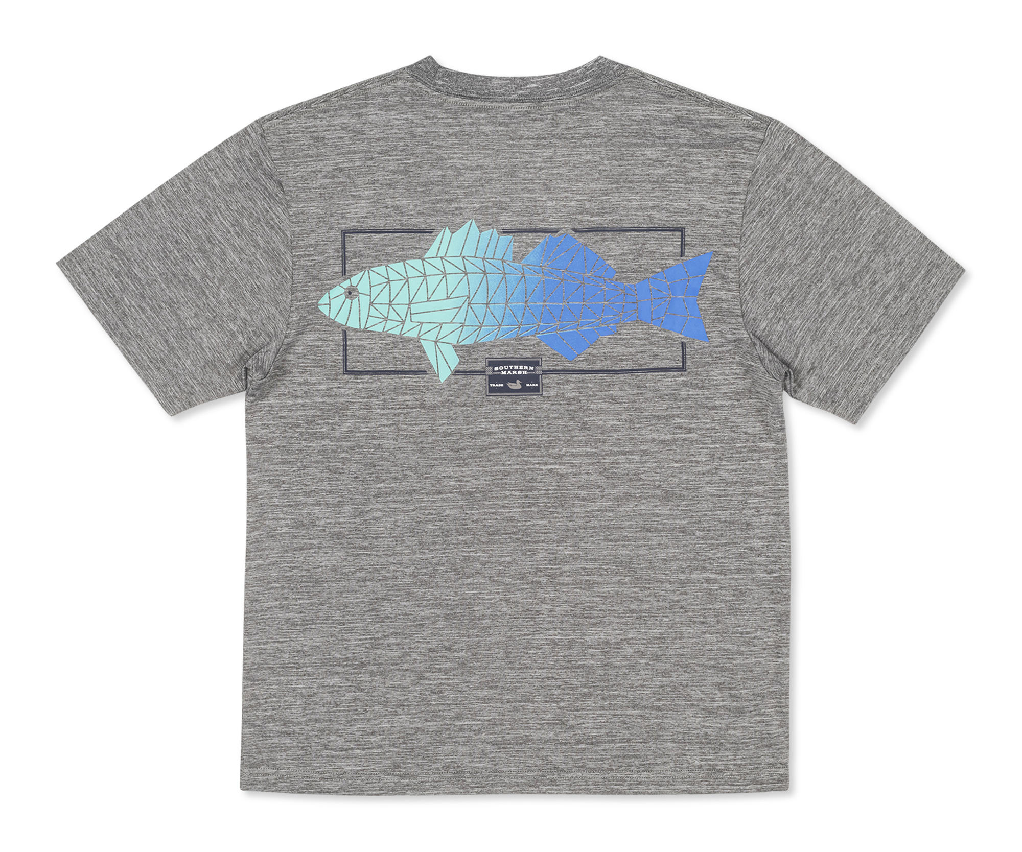 Southern Marsh Youth FieldTec™ Heathered Tee - Gradient Scales