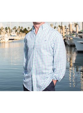 Southern Marsh Southern Marsh Madison Windowpane Dress Shirt