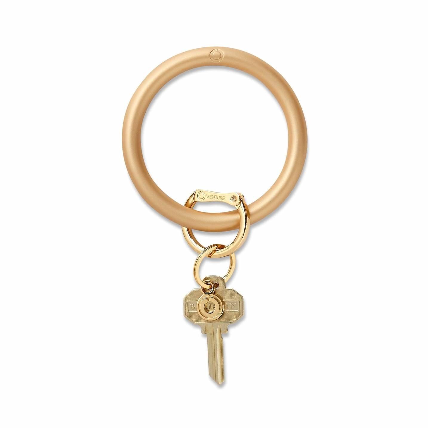 O venture Metallic Collection - Silicone Big O® Key Ring
