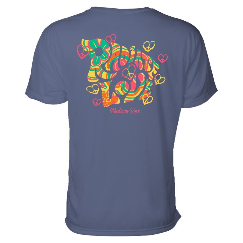 Madison Rose Radiate Love - Short Sleeve Pocket T-Shirt