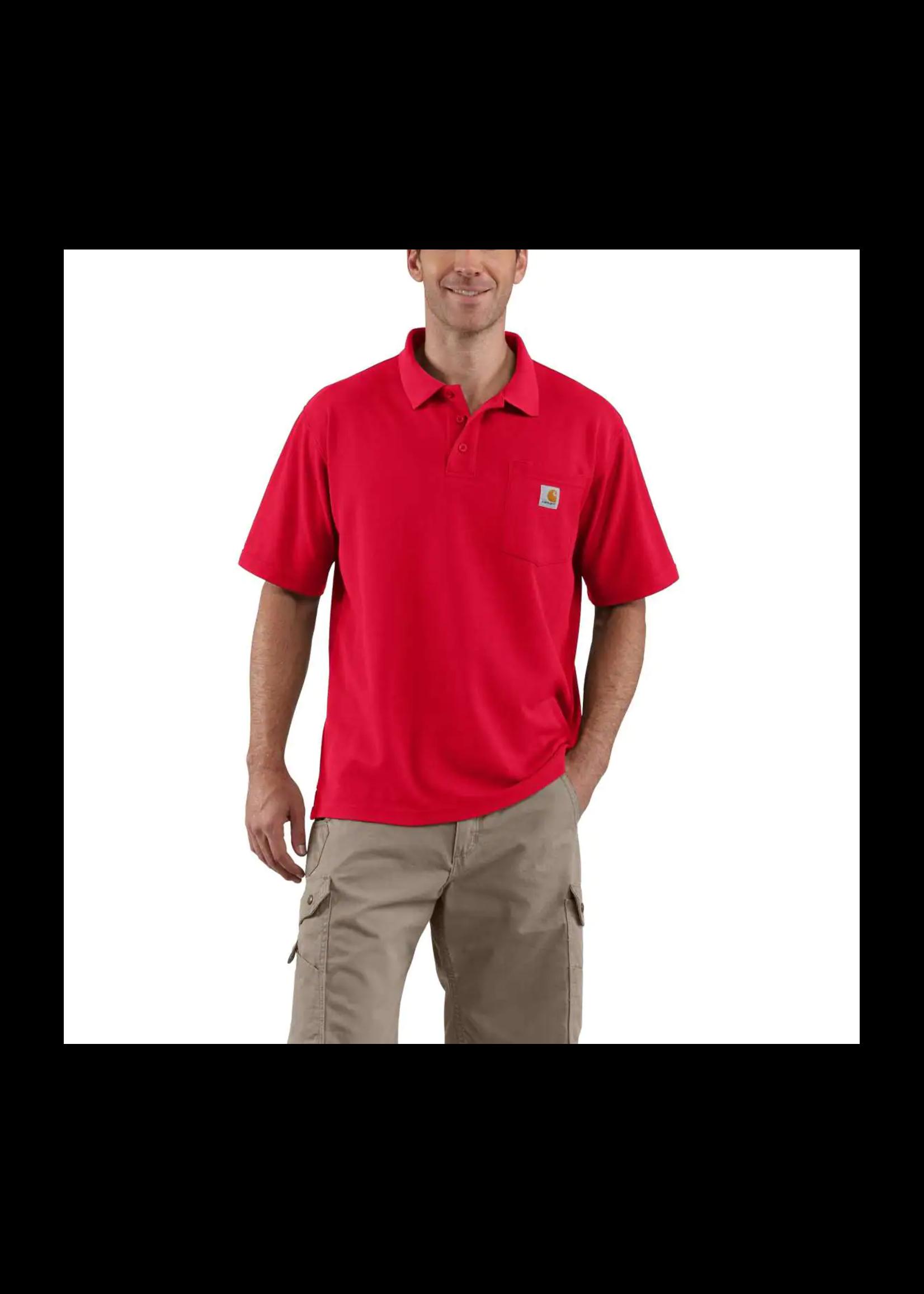 Carhartt Contractor's Work Pocket® Polo - Tall
