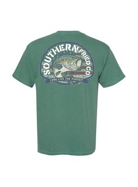 Southern Fried Cotton  American Bass SS Tee - Light Green