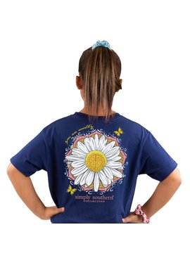 Simply Southern Collection Youth Simply Southern You Are Worthy Daisy