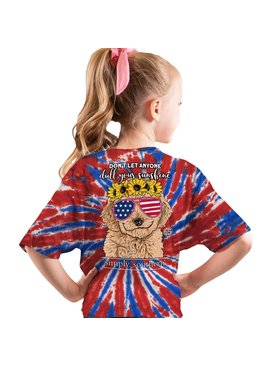 Simply Southern Collection Youth Simply Southern Dull Your Sunshine USA