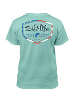 Salt Life YOUTH Amerishield Short Sleeve T-Shirt