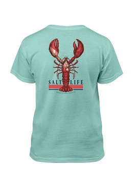 Salt Life YOUTH Lobster Quest Short Sleeve Pocket Tee